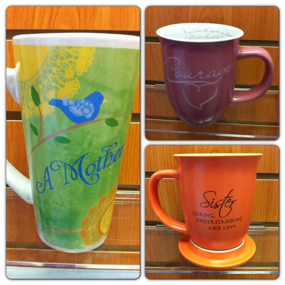 a gift of faith coffee mugs